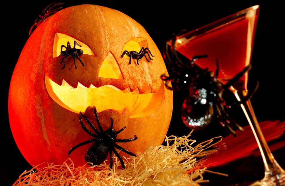 bordsplaceringslek halloween