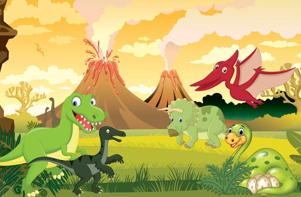 barnkalas dinosaurier