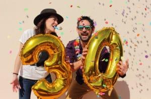 30-årsfest lekar