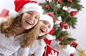 julfest barn lekar