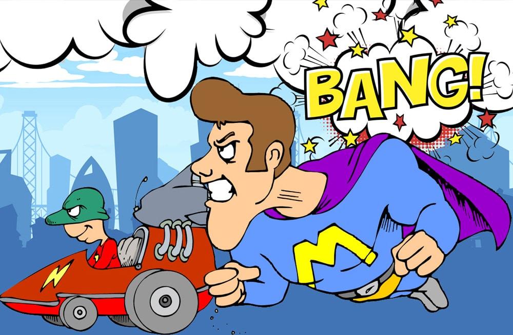 superhjältekalas
