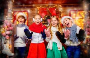 julfest barn
