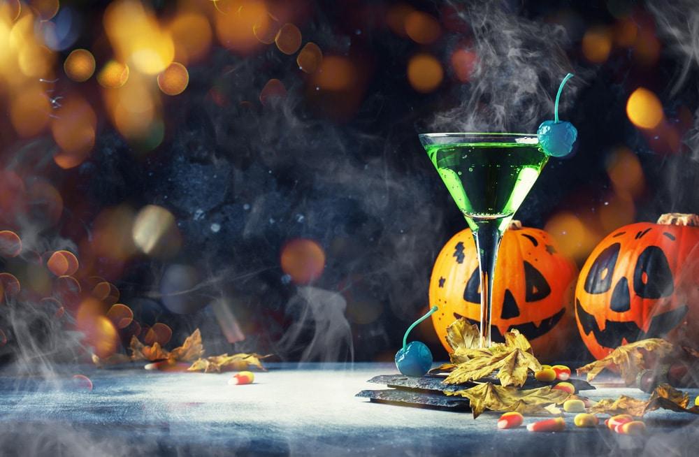 flasketiketter halloween